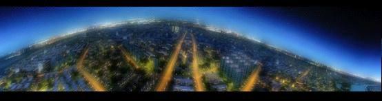 汉中大地的夜色魅力(三维动画)