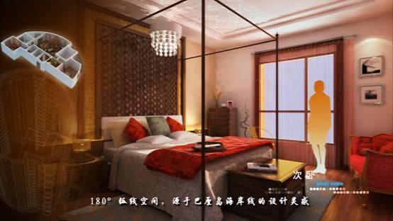 三维室内逼真奢华的质感效果图
