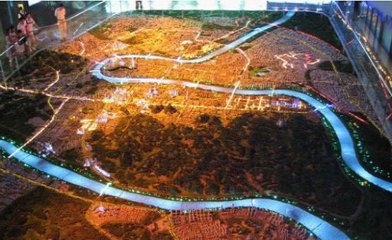 柳州城市规划多媒体电子沙盘展示