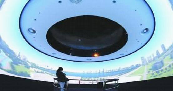 数字城市建设 杭州城市规划展览馆