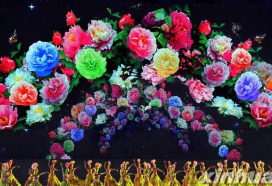 三维动画打造洛阳牡丹文化节舞台背景