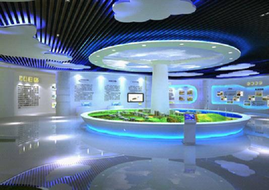 太阳星城地产数字展厅全景