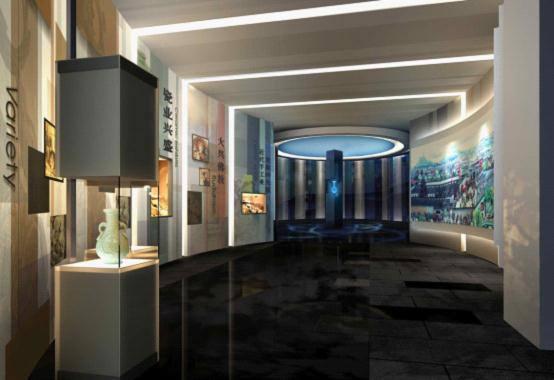 杭州工艺美术博物馆360度全息成像