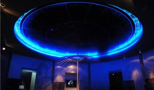 杭州伞博物馆天幕投影