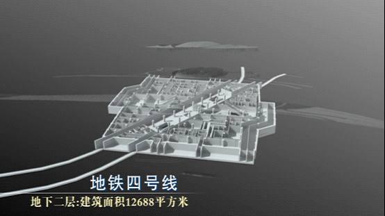 北京南站高精模型