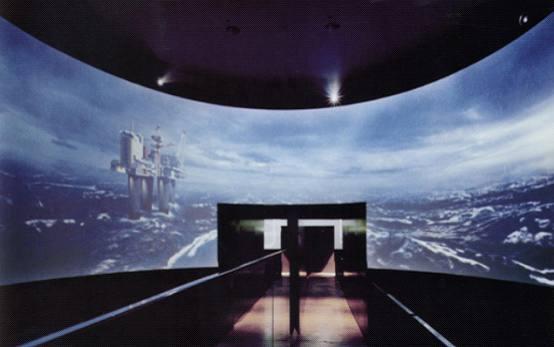 数字科技展览馆360度环幕投影