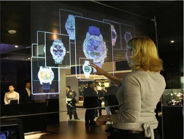 全息投影系统展示