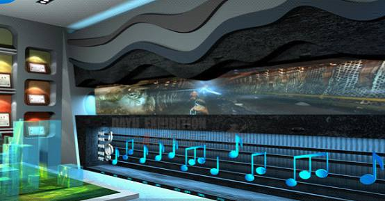 山东能源集团数字展厅全息投影成像