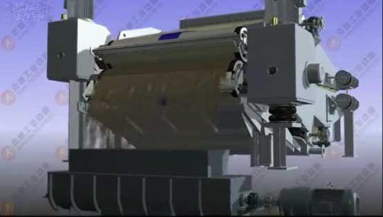 机械动画展示造纸制浆设备(二)