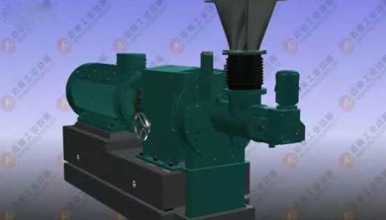 机械动画展示造纸制浆设备(三)