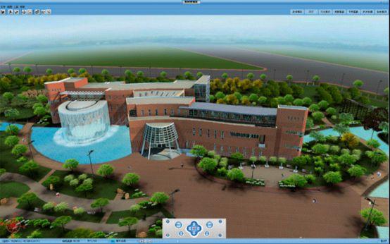 黄河博物馆的整体外貌