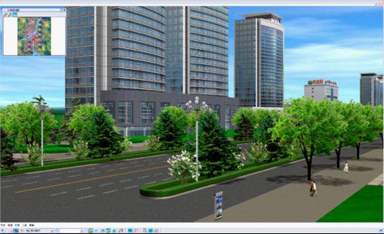 诸城规划街景示意