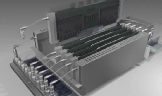 壹码团队制作的机箱组合的画面