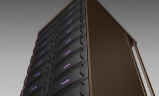 壹码团队制作的机柜组和的画面