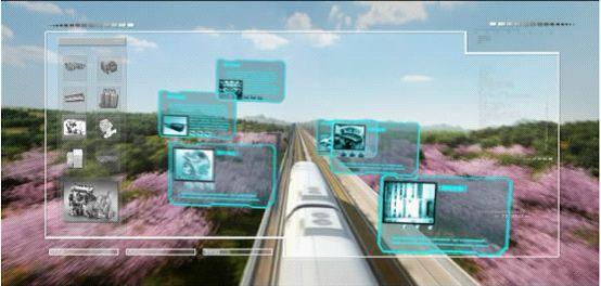 后期结合三维动画技术展示车厢功能