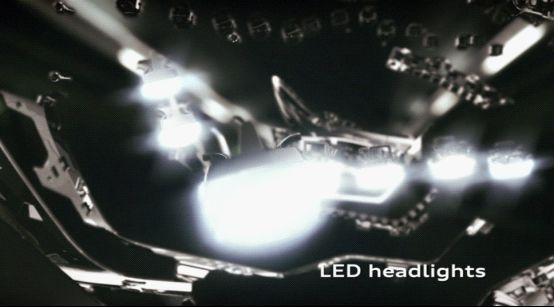 灵动的LED大灯