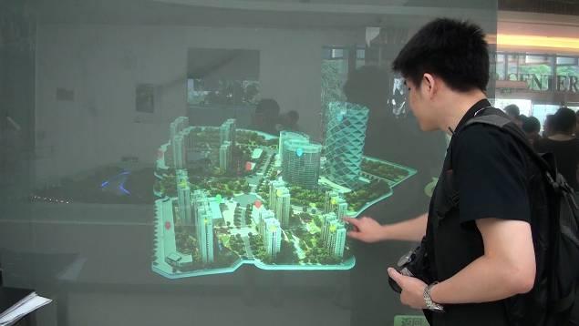 全息互动展示系统